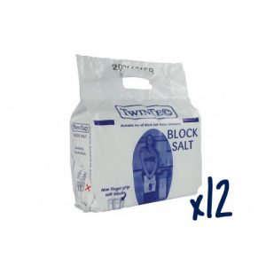 Humber Soft - 12 Pack of TwinTec Block Salt