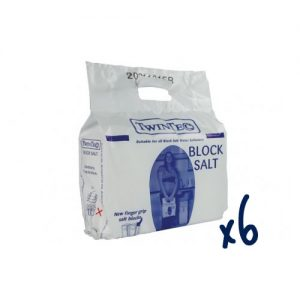 Humber Soft - 6 Pack of TwinTec Block Salt